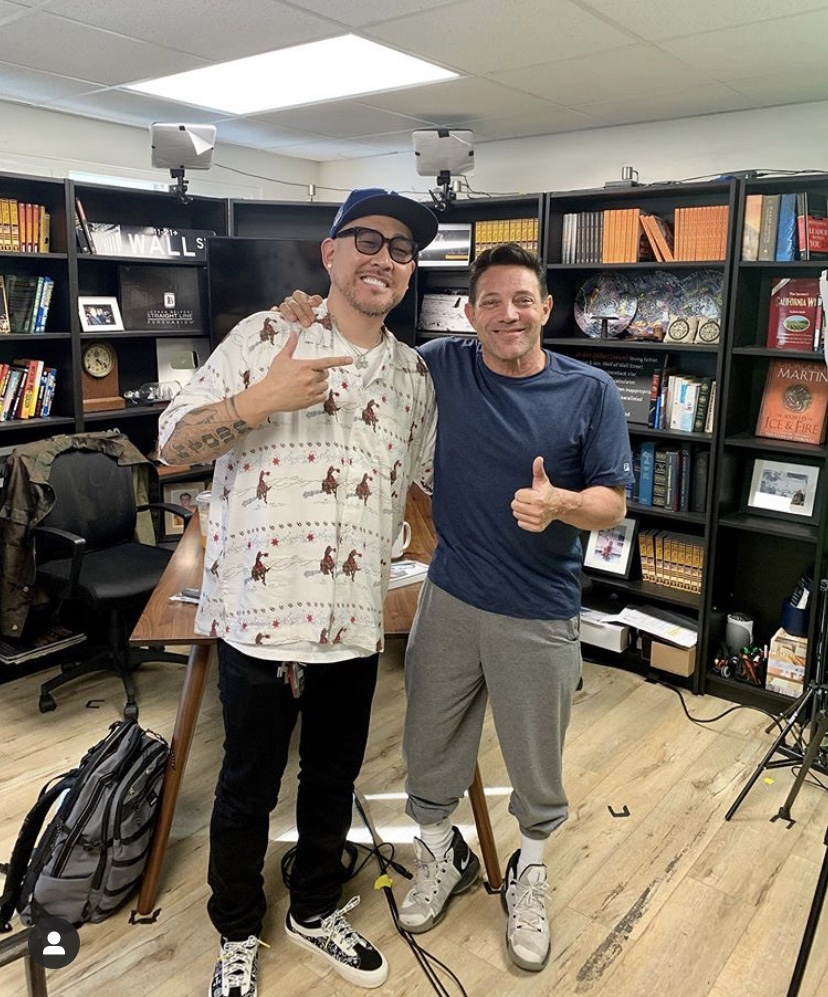 "Don't miss my next podcast episode with the legend @BENBALLER! We finally got to sit down and talk about my ""coronavirus rant"" from last week. We also both have insight on what the government's NOT telling you about this pandemic. #TheWolfsDen #applepodcasts #spotify pic.twitter.com/oxikjQuTsN"
