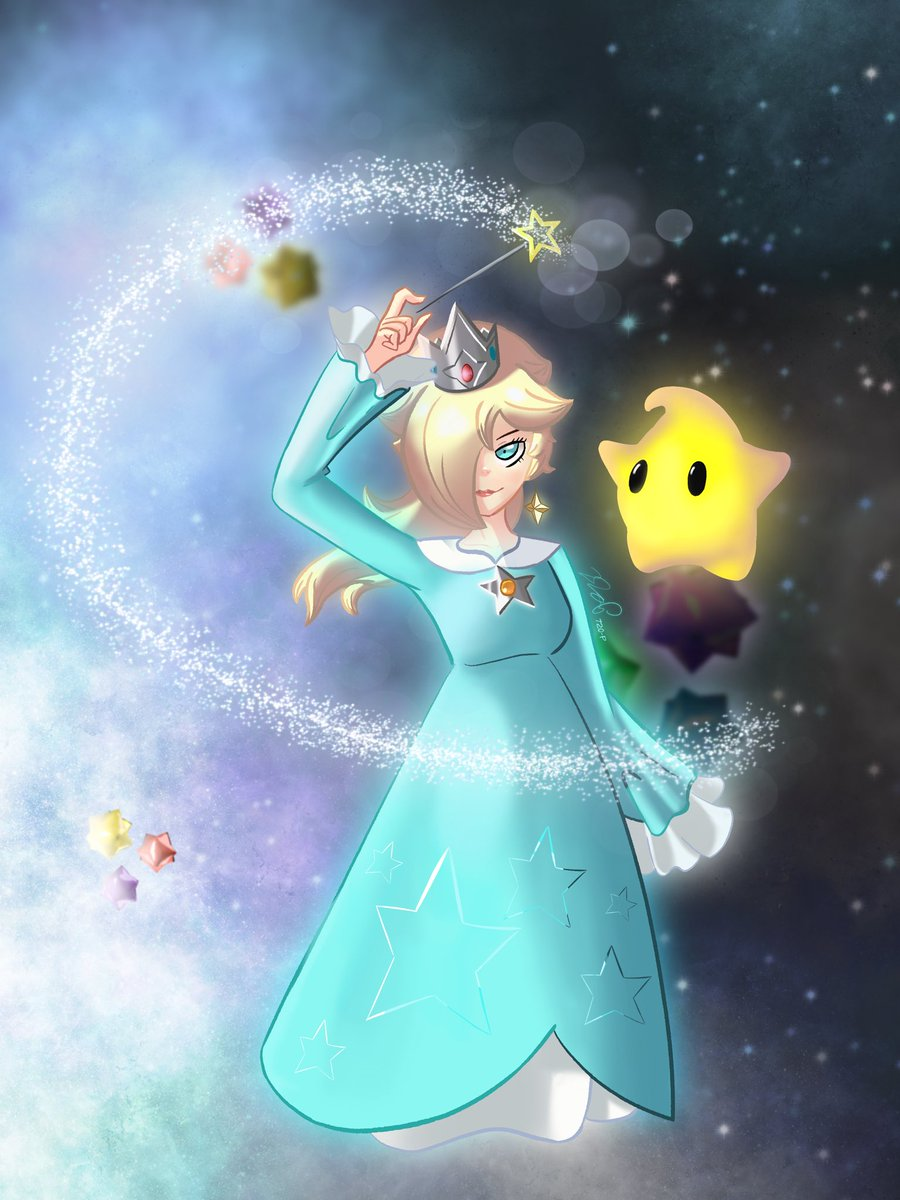 The Cosmic Duo: Rosalina and Luma! (twitter compression pls dont hurt me) #art #2dart #procreateapp #procreate #rosalina #luma #mario #mariogalaxy #SmashBrosUltimatepic.twitter.com/SzJU39YMid