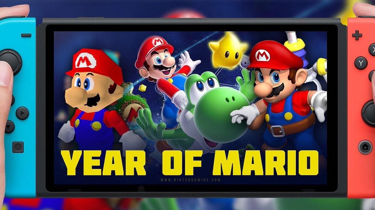 ¡It's me, Mario!  El medio #Eurogamer ha comunicado que hay un rumor de que debido a la 35 aniversario del fontanero favorito de todos: #Mario, los títulos de #SuperMario64, #MarioSunshine y #MarioGalaxy, llegarían de forma remasterizada al #NintendoSwitch.pic.twitter.com/2eGJ5aM57O
