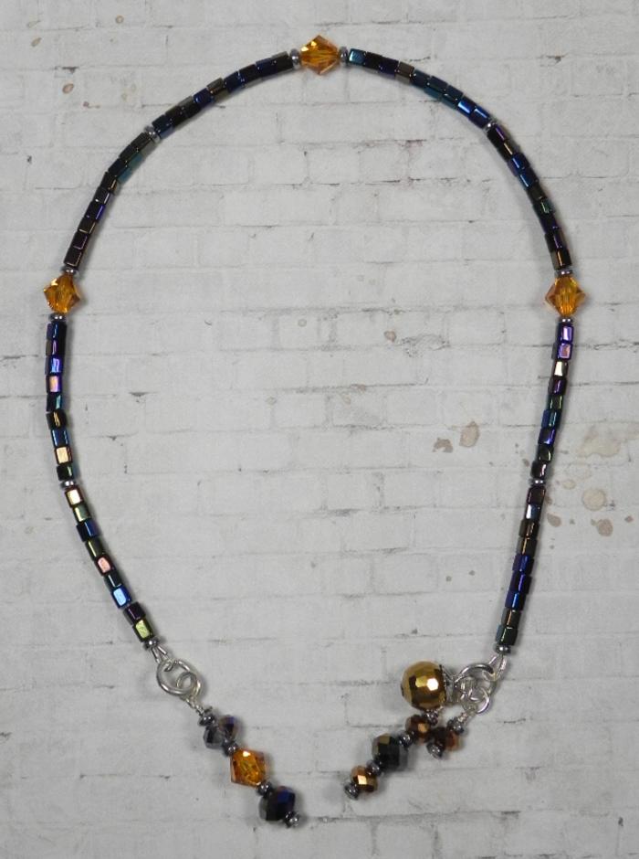Crystal Bicone Square Seed Bead Handmade Beaded Bookmark Black Rainbow Topaz New  @eBay #gifts #shopsmall #buyhandmade #handmadebyme
