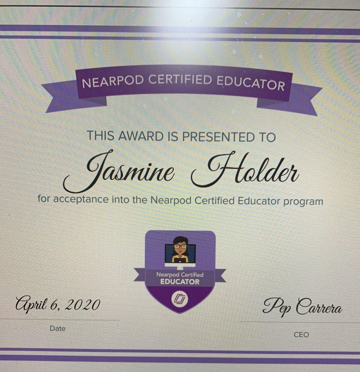 Congratulations @JHolder_BES