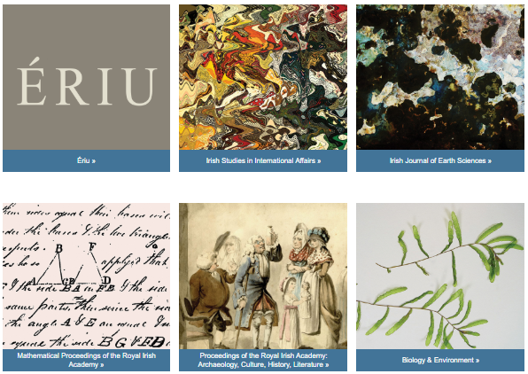 All our Royal Irish Academy #Journals are available on @JSTOR who have increased the number of #free articles accessible in response to #COVID19. They contain peer reviewed scholarly work in a range of disciplines. Learn more about them https://www.ria.ie/journals