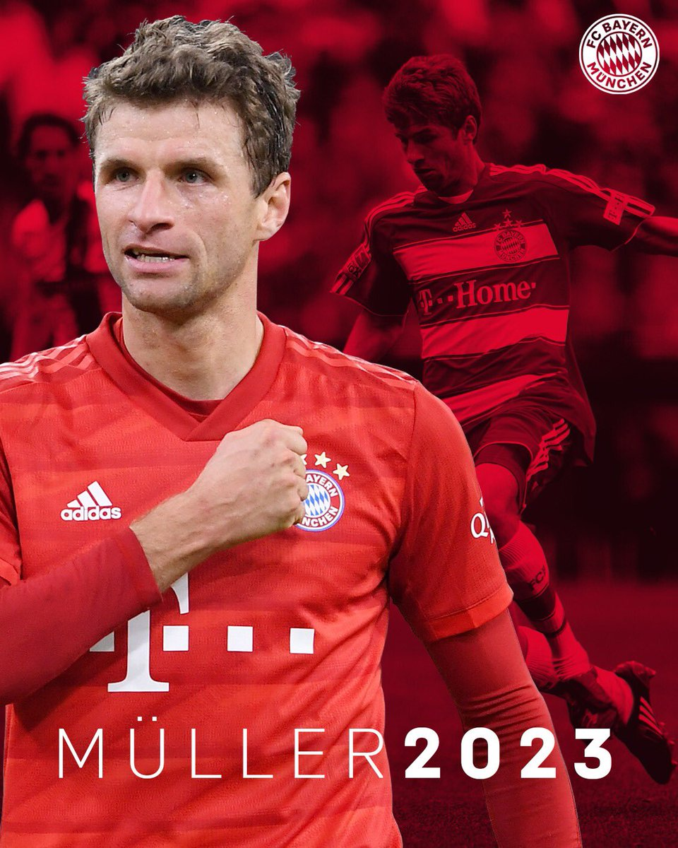 Müller remains loyal to Bayern Munich and extends the contract until  mid-2023 - Teller Report