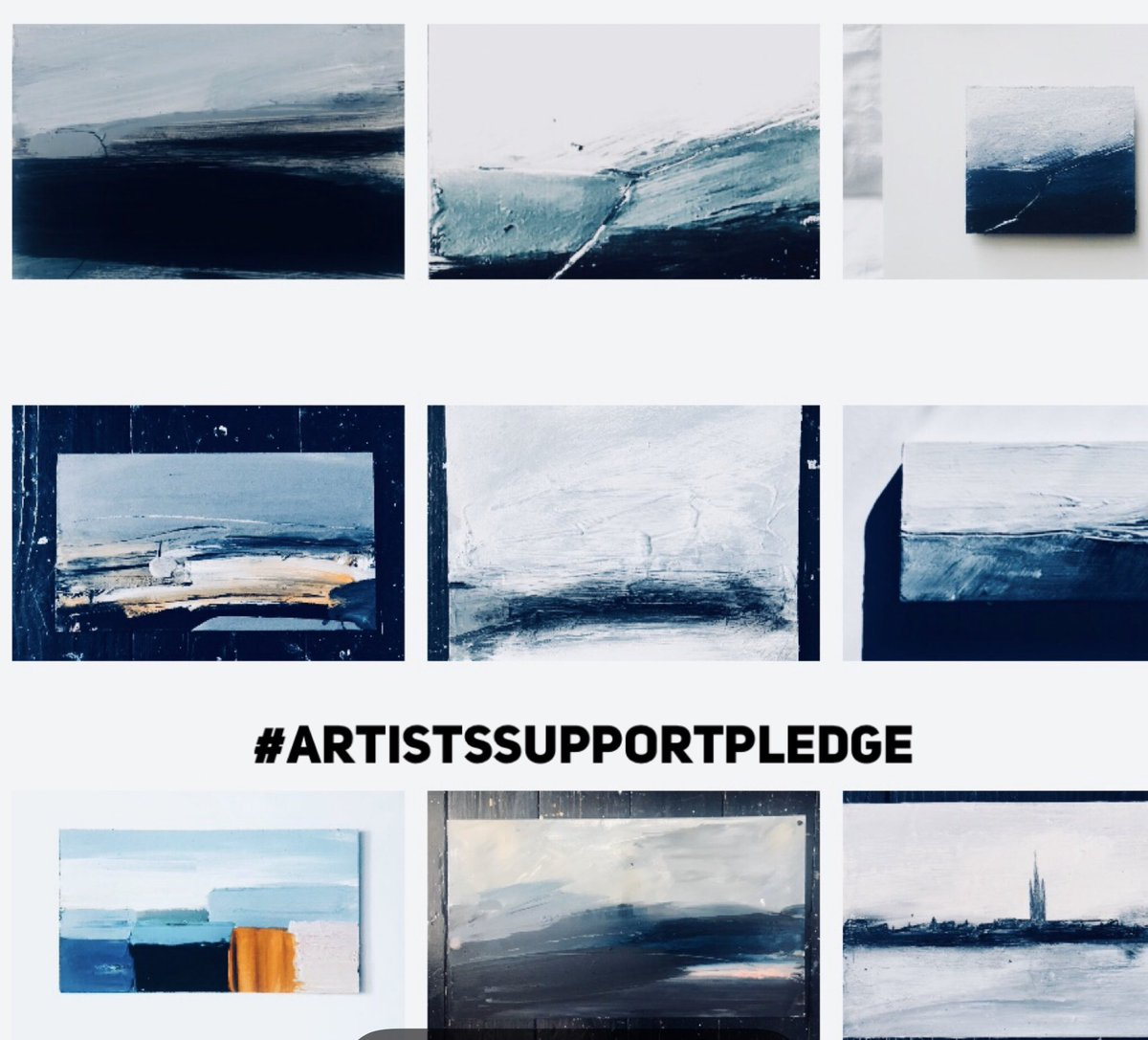 #artistsupportpledge  Small seascapes.... £150-£200 + P&P Please DM if you would like more info....supporting each orher in hard times.... #sea #seascapes #scotland #womenartists #painting #artistsupportpledge #slowliving #timeout #SupportingIndependents #ArtHelps #gratitudepic.twitter.com/67jxYWOPjh
