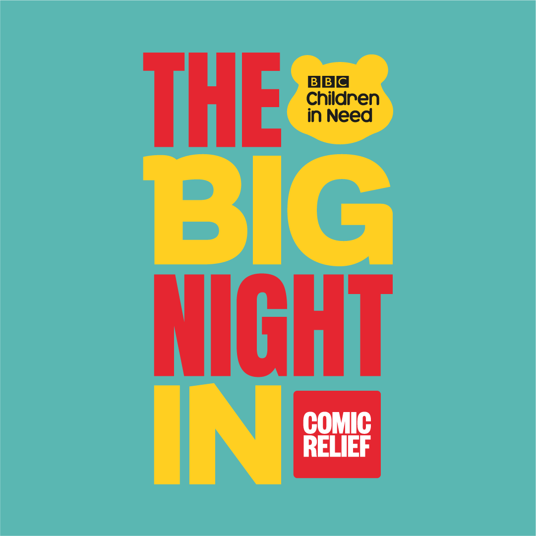 For one night only @BBCOne, BBC Children in Need & Comic Relief are coming together to lift the spirits of the nation, & help those who need us through this crisis. Join us, support us, & get comfy on the sofa for The Big Night In!  Thursday 23rd April - https://t.co/oRF9kxKbS2 https://t.co/5oM7z5ToQ8