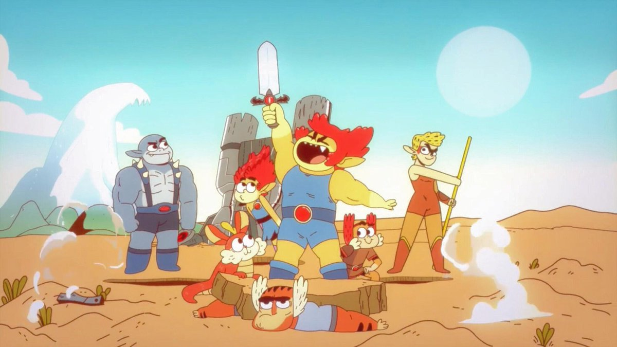 Tomorrow we're visiting the controversial #thundercats roar. Will it live up to the hate or surprise us all? Catch up before #youtube where you can access our entire backlog on #youtube  #cartoon #podcast #thundercatsroar #cartoonnetwork #cn #hatersgonnahate #childhoodruinedpic.twitter.com/J8WfX5g9qX