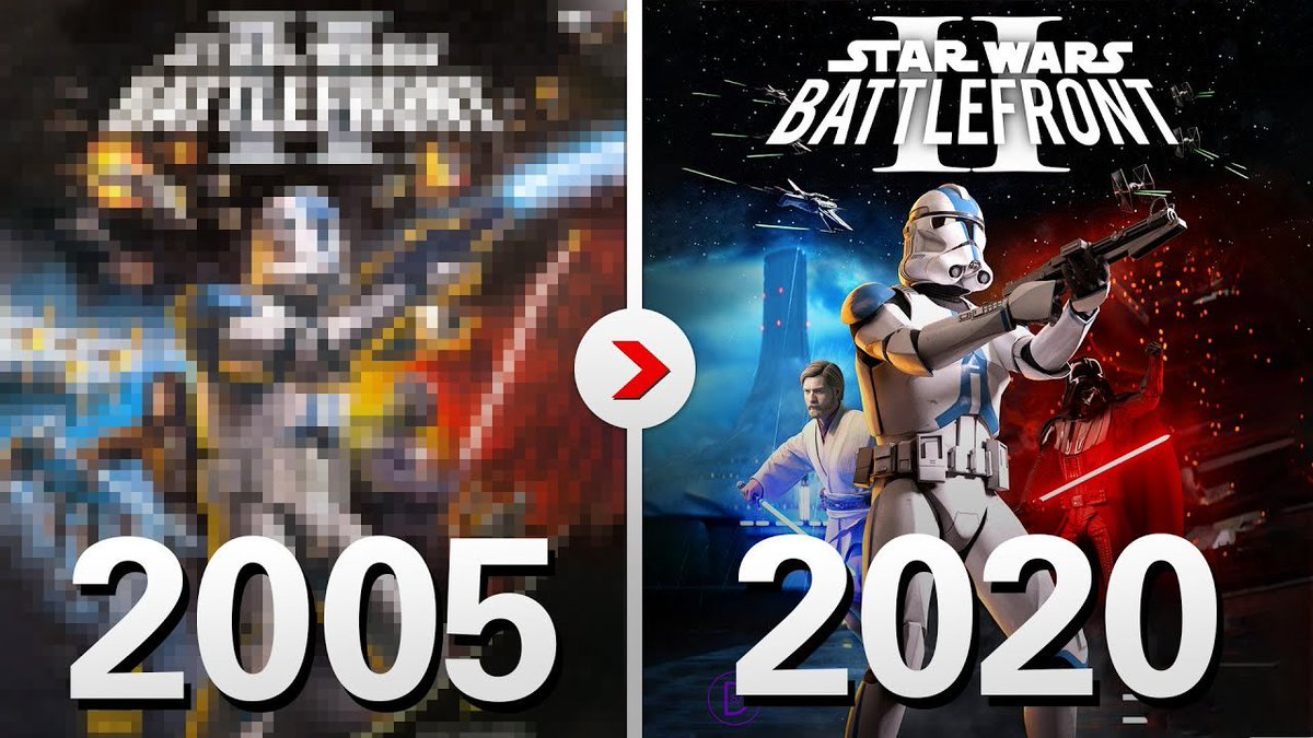Cinematic Captures On Twitter Classic Star Wars Battlefront Ii 2005 Remade In Swbfii 2017 Https T Co Bvqbgqmfzd