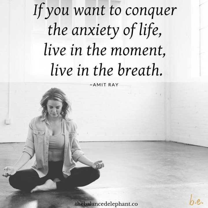 If you want to conquer the anxiety of life, live in the moment, live in the breath. ~Amit Ray http://bit.ly/2JnGg5I . . . #mindfulness #meditation #bepresent #powerofnow #Love #zen #wellbeing #wellness #compassion #kindness #womeninbusiness #workingmomlife #authenticselfpic.twitter.com/Y1l6KzyvK0