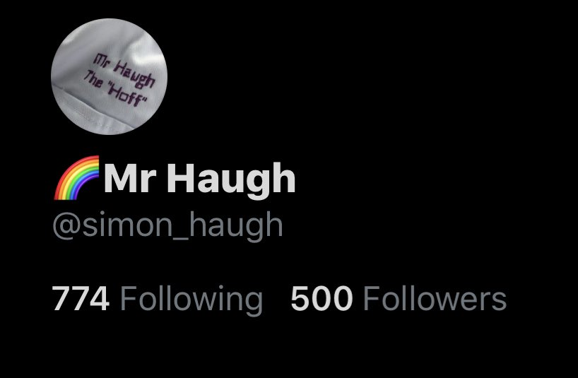 I never thought I would achieve a following of 500! #teacher #outwoodsciencechallenge #bestjobintheworld #researchED #cogscisci thank you all!pic.twitter.com/y6srt580B0