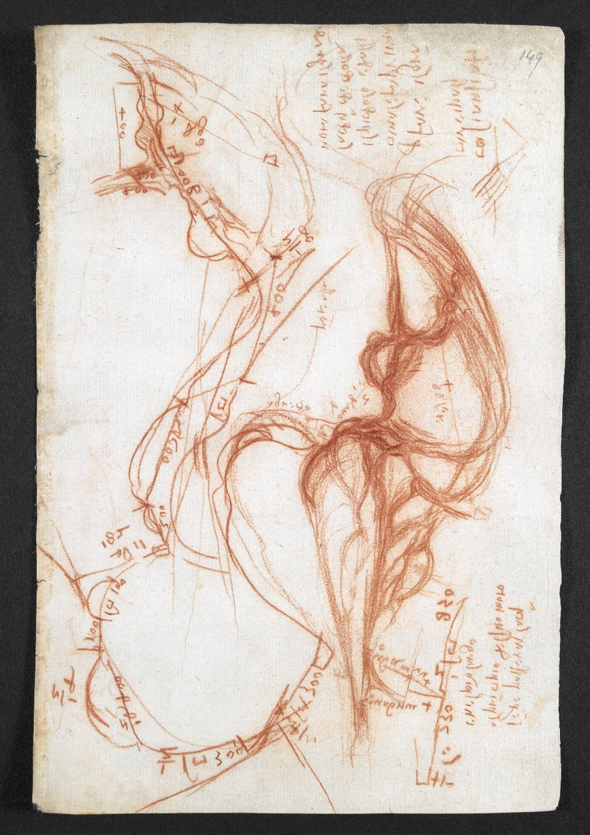 #Archive30 #FamousArchives Leonardo da Vinci's notebook @britishlibrary, 'a collection without order, drawn from many papers, which I have copied here, hoping to arrange them later each in its place according to the subjects of which they treat'