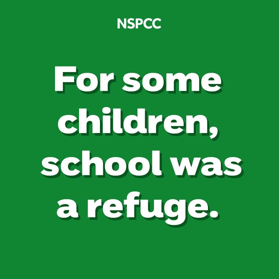 Usually, the @NSPCC's #SpeakOutStaySafe programme would be running to thousands of children each week to talk about how to keep safe from abuse. During lockdown, this vital service has had to close. If you need support the NSPCC is still here –  #EveryChild