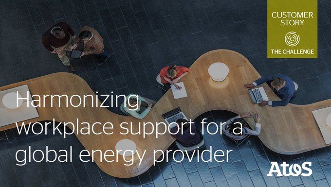 [#CustomerStory] A global energy giant's workplace support landscape was neither...