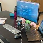 Image for the Tweet beginning: Unsere Home Office Blog-Serie geht