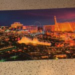 Miss Miller finally finished her puzzle. Well done if you guessed it was Las Vegas!