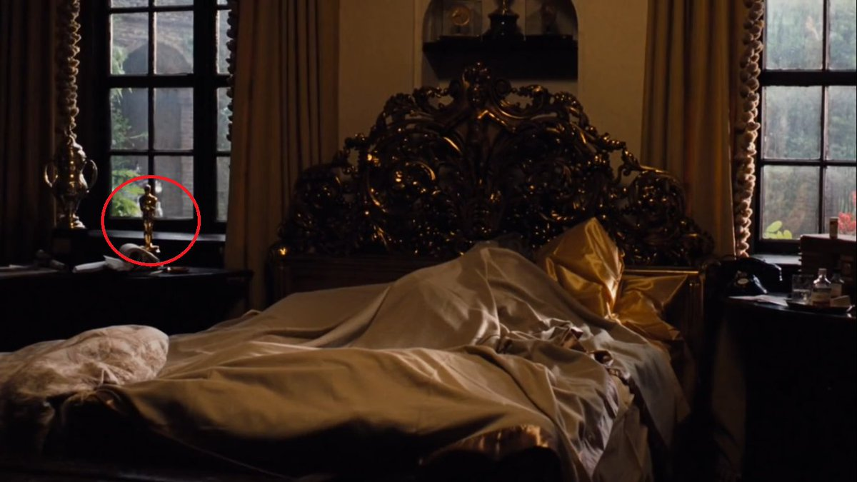"""Films and Stuffs on Twitter: """"The Godfather [1972] Jack Woltz is an oscar  winner, where you can see the oscar award near the window, before the  iconic scene ― where woltz finds"""