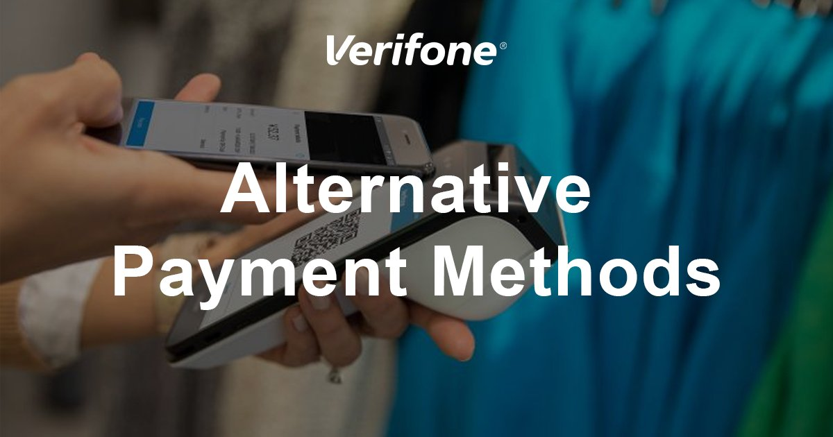 Verifone Cloud Services enable merchants to offer alternative payment methods (APMs) for international payments & alternative financing, all on a single device. This enables the expanse of omnichannel platforms regardless of payment method. Learn more at https://t.co/FS1xn0Uiju. https://t.co/PmsIbuHnHR