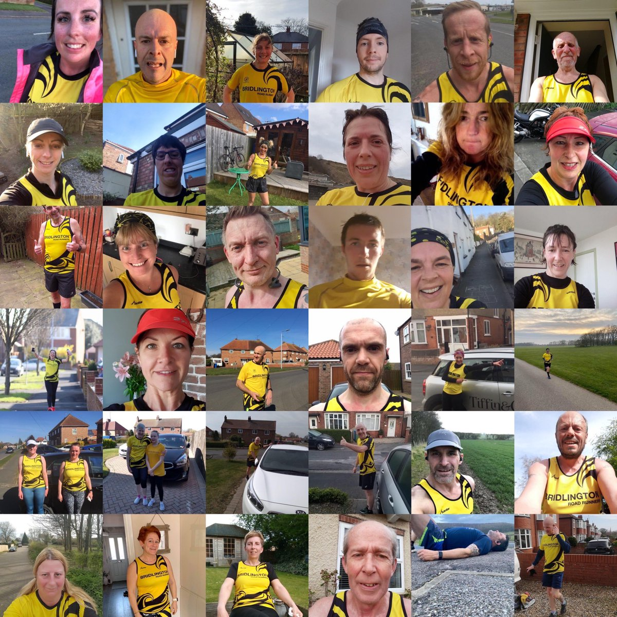 Incredible commitment from BRR members to complete a sunrise to sunset virtual relay over the weekend, 186.11 miles in total showing immense camaraderie, teamwork and support #bridlingtonroadrunners #virtualrelaychallenge #teamwork #runnersforlife #supportthenhspic.twitter.com/QQ5ehgDE5w