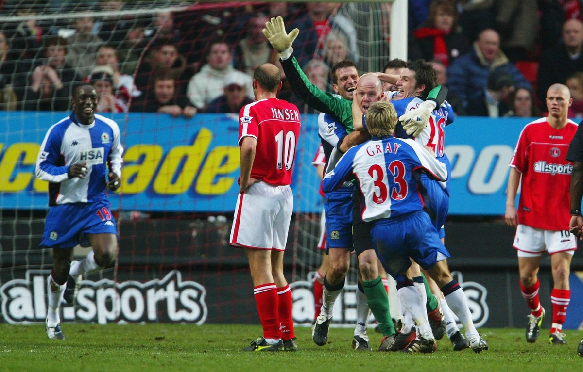"""OptaJoe on Twitter: """"2 - In February 2004, Blackburn's Brad Friedel became  only the second goalkeeper in Premier League history to score a goal, doing  so in his side's 2-3 defeat against"""