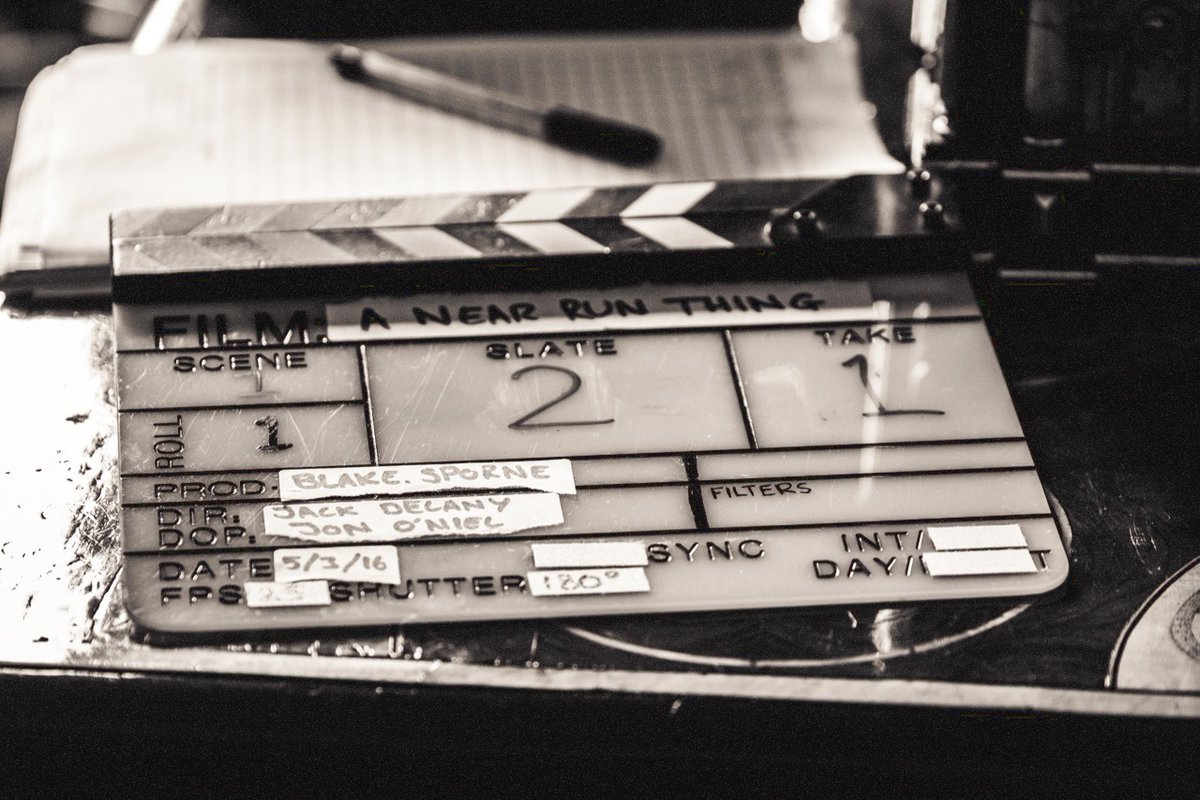 The hallowed clapperboard itself! #videoproduction #nottingham