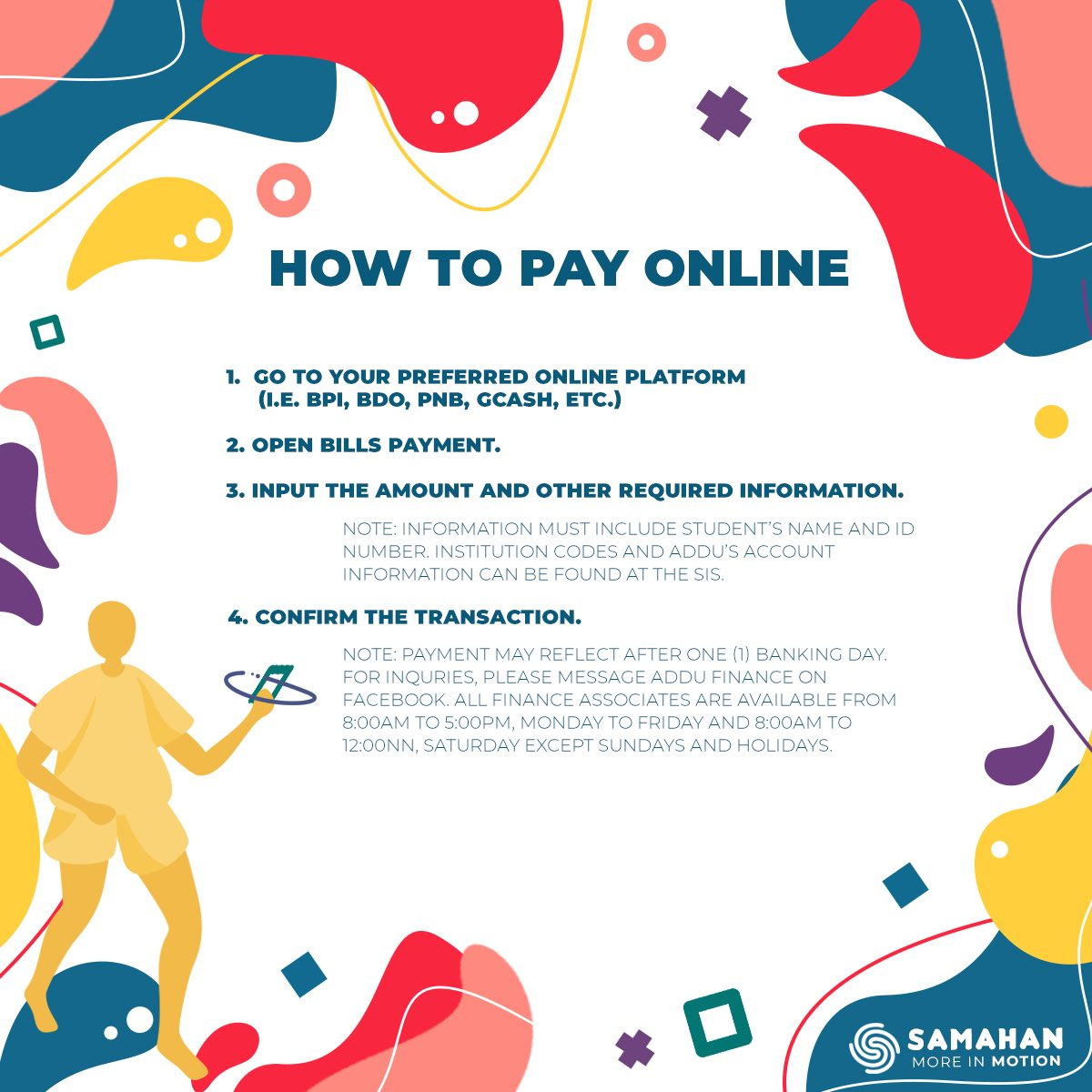 #SAMAHANHelpPortal | Here are the steps to pay online 📱