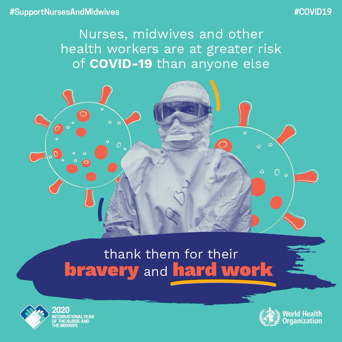 #COVID19 underscores the critical (and often unmet) need for protective equipment for nurses/midwives, which enables them to safely provide care and reduce the rate of infection in emergency settings. bit.ly/NursingReport2… #WorldHealthDay #SupportNursesAndMidwives