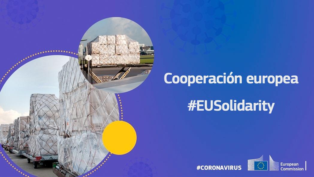 La cooperación internacional, prioridad para la UE en la lucha contra el #coronavirus. Médicos y enfermeras europeos han sido enviados a #Italia, a través del #EUCivPro , para ayudar al personal médico de Italia a combatir el coronavirus. ↓ https://ec.europa.eu/commission/presscorner/detail/es/ip_20_613…  #EUSolidarity