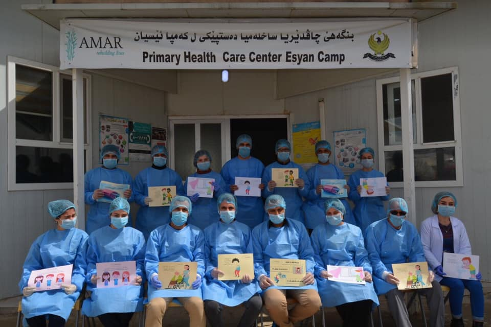test Twitter Media - It's #WorldHealthDay #WorldHealthDay2020 . What better time to celebrate the incredible work of our brave medical teams in #Iraq #KRG, doing all they can to keep people safe from #COVID19 in the #Yazidi #IDP camps ? Please support them and donate here https://t.co/vFfGgcEbo5 https://t.co/tSVRqe4zzx