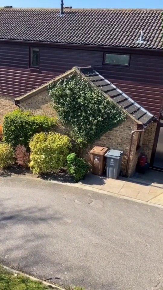 ロックダウン中のイギリスでは、大胆なカモフラージュを身にまとい家を抜け出す人が出ているようです