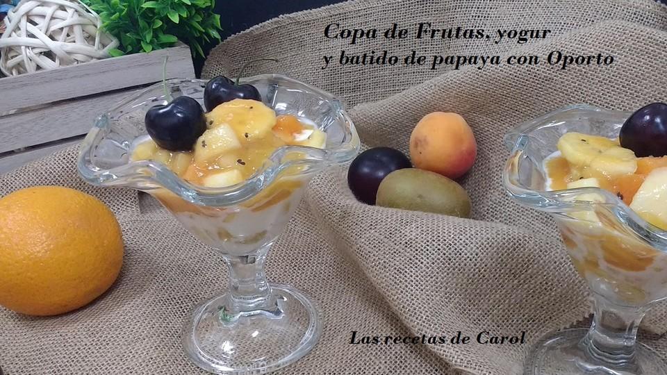 Copa de frutas y batido de papaya con Oporto Un sencillo postre de frutas, #YoMeQuedoEnCasa #recetassencillas #recetasaludable #cocinaencasa #food #cocinasana https://lasrecetasdecarol.com/2019/06/09/copa-de-frutas-y-batido-de-papaya-con-oporto/… pic.twitter.com/gu3kghESjA