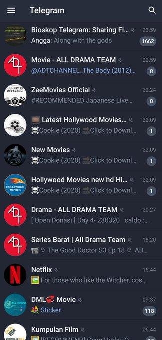Channel film telegram grup film telegram sub indo
