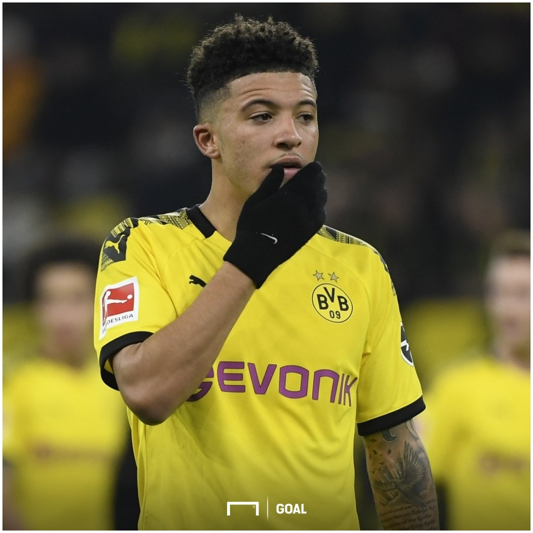 Manchester United are in discussions with Jadon Sancho's management but Dortmund are unwilling to budge on their £98m valuation of their star player, according to Fabrizio Romano.