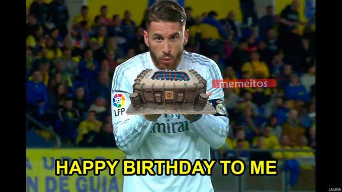 Happy 34th Birthday to Sergio Ramos!