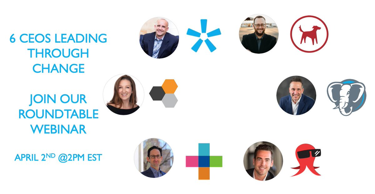 Rare chance to hear from 6 #fintech  leaders, coming together to discuss challenges facing #advisors , & the opportunities to be learned by them. April 2nd at 2pm EST Register here:  https://zoom.us/webinar/register/WN_kLE_MI3QSIG62qKE-0uo5g  … @orionadvisor  @RedtailCRM  @AssetMapLLC  @Riskalyze  @SnappyKraken  #fintwit