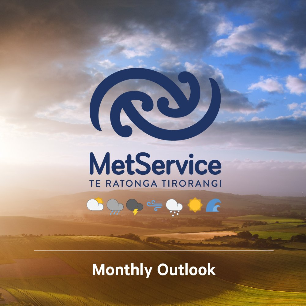 The MetService Outlook for April is now up at bit.ly/MonthlyOutlook.    Many regions are still in drought, and still need a decent 100mm of rain to clear the deficit. ^GG https://t.co/kz9tjhjBkC