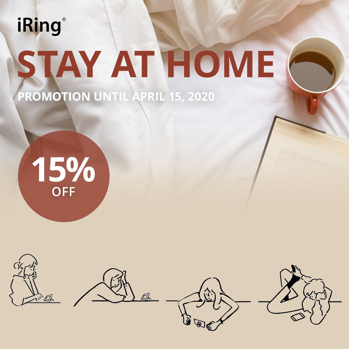 It's good to be home, Stay safe everyone!   Get your 15% discount on your purchase by using the promo code.  Click here: https://iring.com/pages/stay-at-home-promotion…  #iring #iringoriginal #ringholder #iphone #andriod #mobile #mobilephone #phoneaccessories #aauxx #stayathome #iringpromotionpic.twitter.com/rvPQEJ395R
