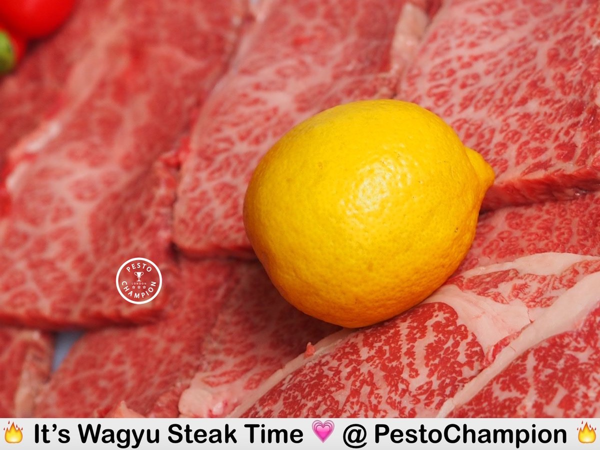 Mmm.. #wagyu beef! . More foodie fun on ☞ http://pestochampion.com  . #pestochampionpic.twitter.com/yzYJTHkq7p