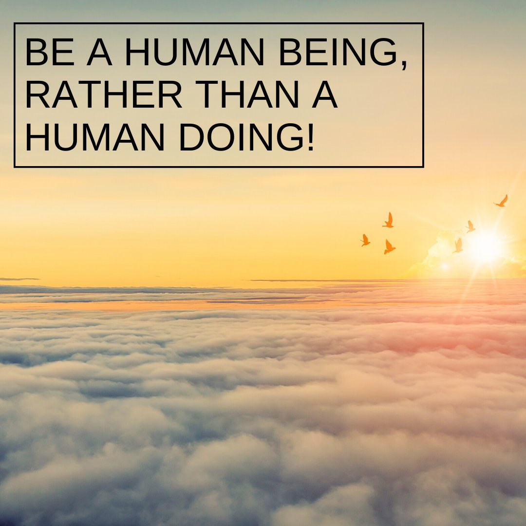 So right now we have the opportunity to be rather than do.   We are on this planet for a purpose.  Part of this purpose is to BE!  Today, take some time for BEING rather than doing.  #beaconsfieldcounsellor #counsellingbeaconsfield  #timeforchange pic.twitter.com/ZCDuXOvyjt