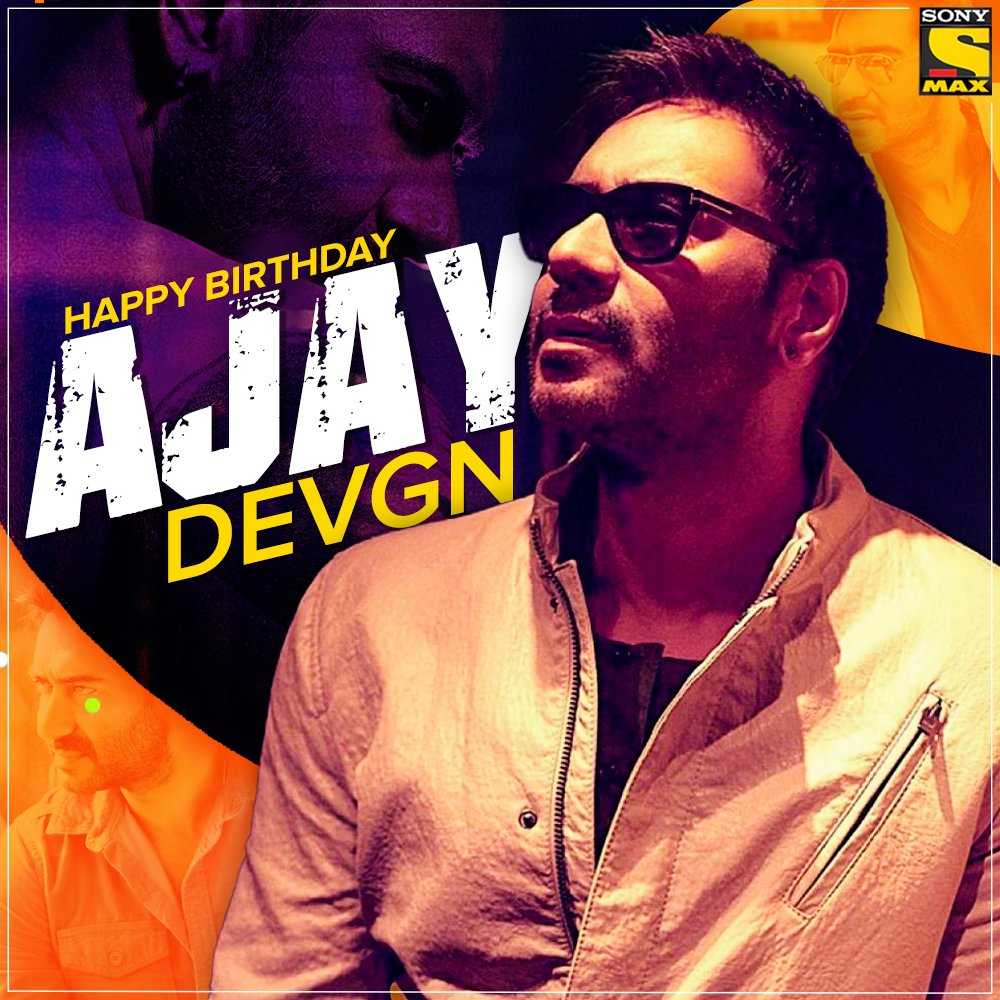 #HappyBirthdayAjayDevgn!  The #Bollywood superstar turns 51 today!   #MAXUK #BollywoodMovies #Bollywood #BollywoodActor #BollywoodActress #Haps #HappyBirthday #HBD #AjayDevgnpic.twitter.com/25IcITzhWk