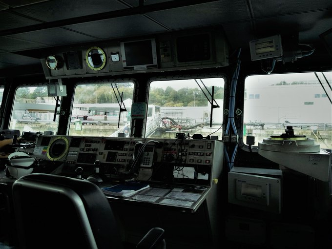 First sea trials of the LMN6 aboard! ⚓The latest Atos #electromagnetic #speedlog is now...