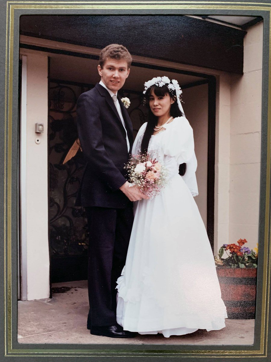 31 years ago today #anniversary #beauty #wifesnotbadeither pic.twitter.com/WCwSgzj6T1