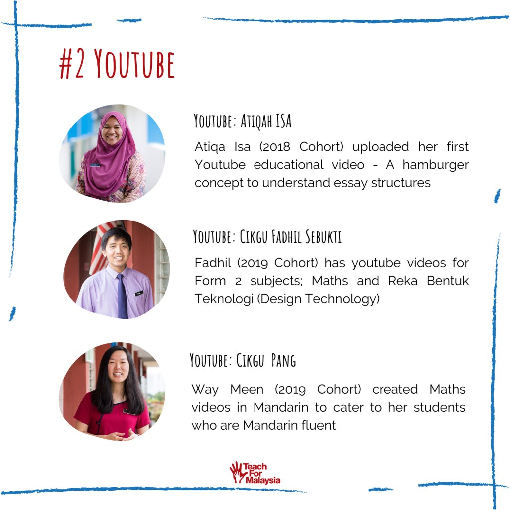 Teach For Malaysia On Twitter Teaching From Home While Schools Are Closed Due To The Mco Our Fellows And Alumni Are Keeping The Spirit Of Teaching And Learning Alive Via Virtual Tools