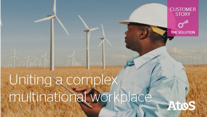 [#CustomerStory] This global #energy giant partnered with @Atos to establish a global,...