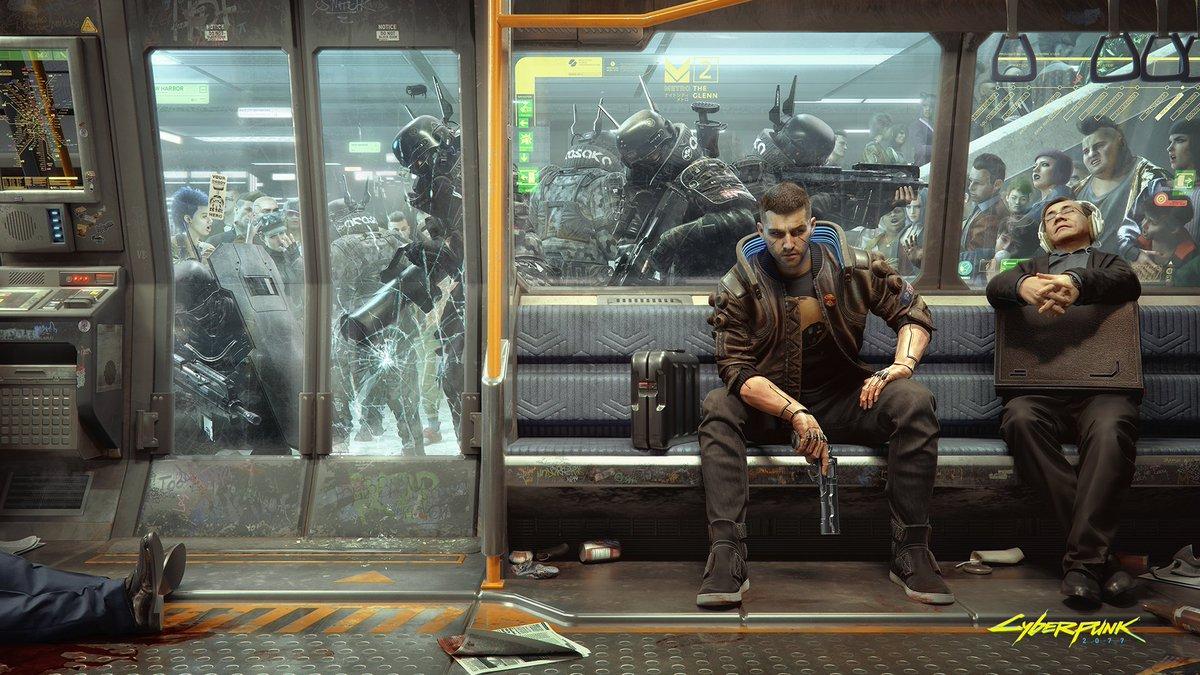 New Cyberpunk 2077 Wallpaper Shows How Metro Commuting Works    https://gadgetsngaming.com/?p=4543&utm_source=SocialAutoPoster&utm_medium=Social&utm_campaign=Twitter  …   #CDProjektRED  #Cyberpunk2077  #NewWallpaper