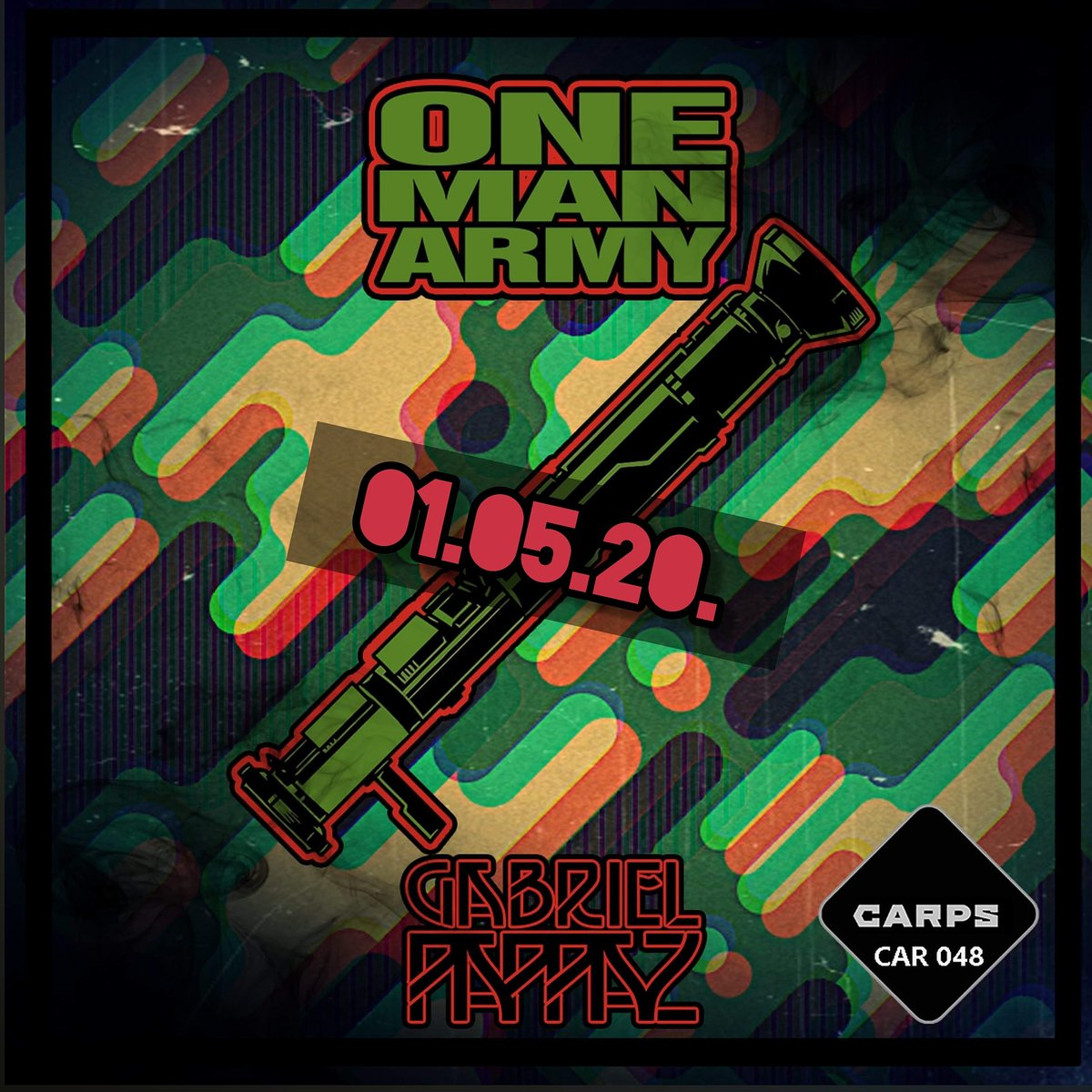 Release Artist:Gabriel Pappaz Release Title:One Man Army Catalogue Number: CAR048 Label: CARPS Release Type: Single Release time: 01 May 2020. #techno #technomusic #technoproducer #rave #acidtechno #acid #onemanarmypic.twitter.com/ookPWTZhjn