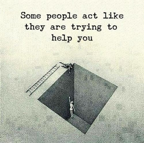 Some #people act like  They are trying to help  you.  #TuesdayMorning #TuesdayTreat <br>http://pic.twitter.com/U3fddtTt2t
