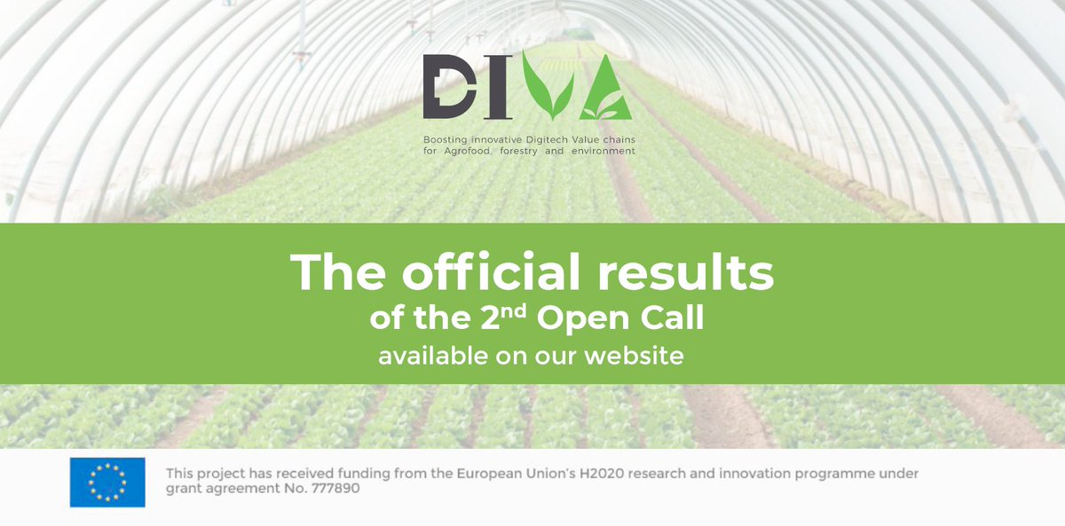 📣During this difficult situation with the outbreak and expansion of #COVIDー19, the good news that we keep receiving make us feel more optimistic. Our 2 proposals to the 2nd open call of @EU_ProjectDIVA have been selected for funding #artificialintelligence #bigdataanalytics