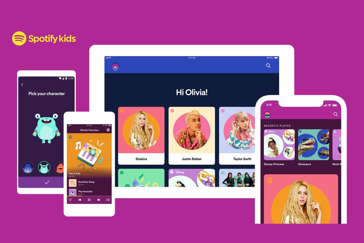 Spotify is bringing its kids app to the US, Canada, and France