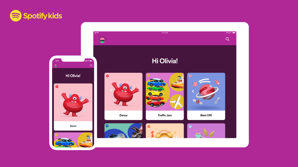 Family-friendly Spotify Kids app launches in the U.S., Canada and France by @sarahintampa