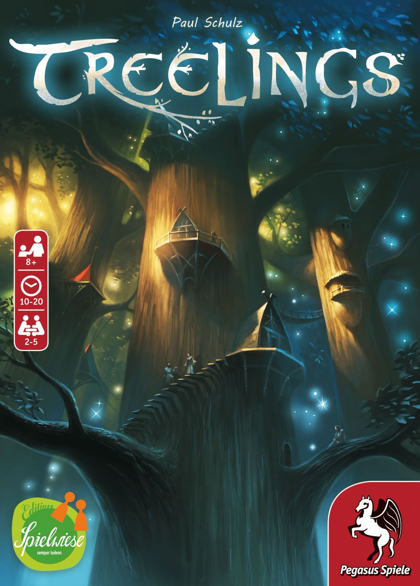 Nature is a balance of all things, yes? That spirit drives your scoring in Treelings, a quick-playing card-drafting game from @spielwiese & @pegasusspiele.  On BGG News, designer Paul Schulz explains how the game evolved from the seed of an idea: https://www.boardgamegeek.com/blogpost/100315. —WEMpic.twitter.com/9UFsfWeWBJ