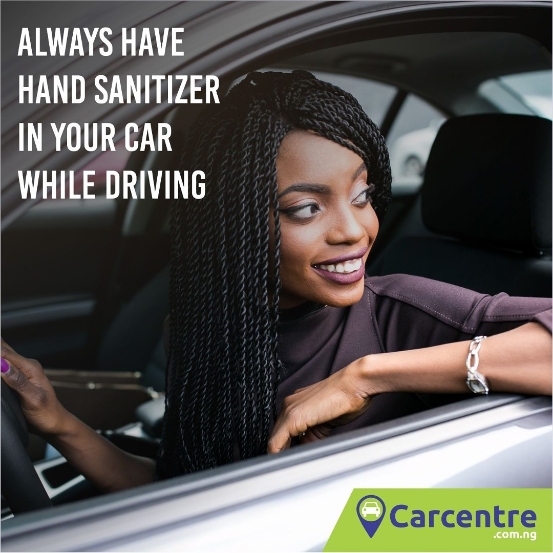 *Always have a hand santizer in your car while driving #carcentre #buycars #sellcars #usedcars #foreignusedcars #tokunbocars #newcars #covid19 #staysafe #social distancing #coronaviruspic.twitter.com/swEetdpk2L